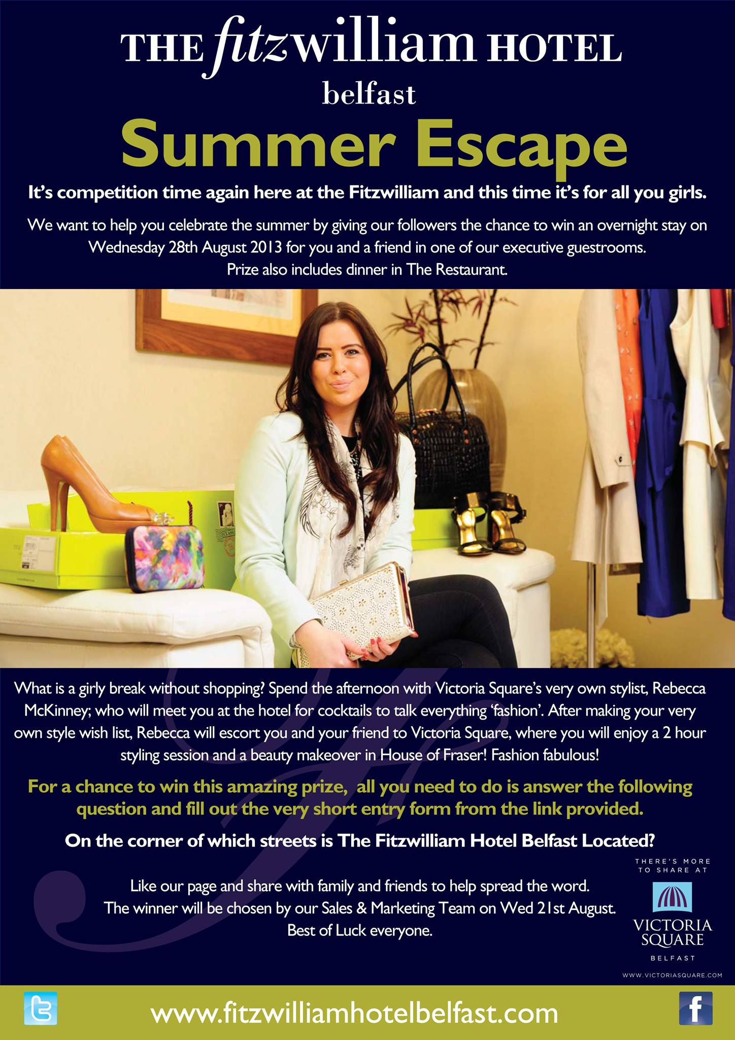 foto de #WIN a summer escape and girlie day out with