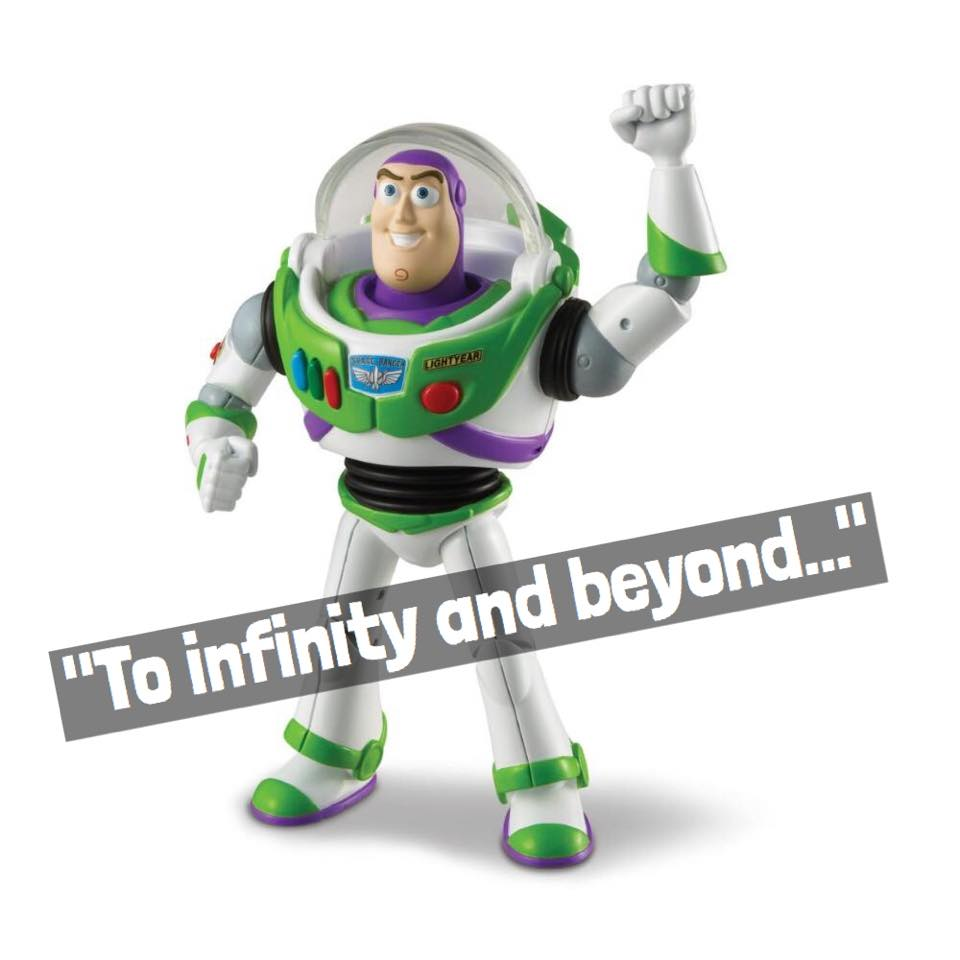 To Infinity And Beyond Buzz Lightyear Tops List Of
