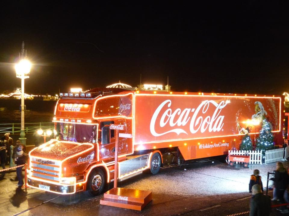 The Coca Cola Christmas Truck Will Arrive In Belfast At 12pm On Wednesday 10th December 2014 Lovebelfast