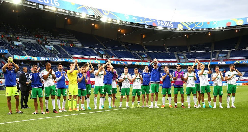 A Homecoming Event For The Northern Ireland Football Team
