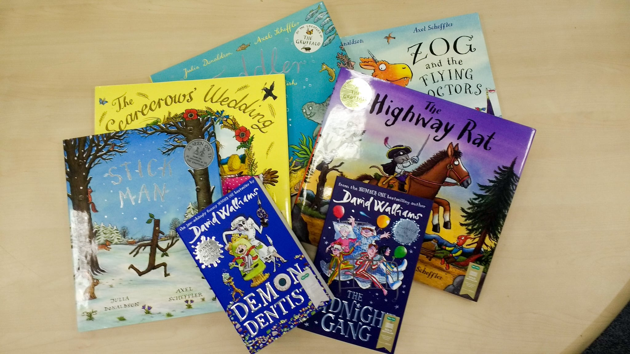 Win a bundle of bestseller children's books from
