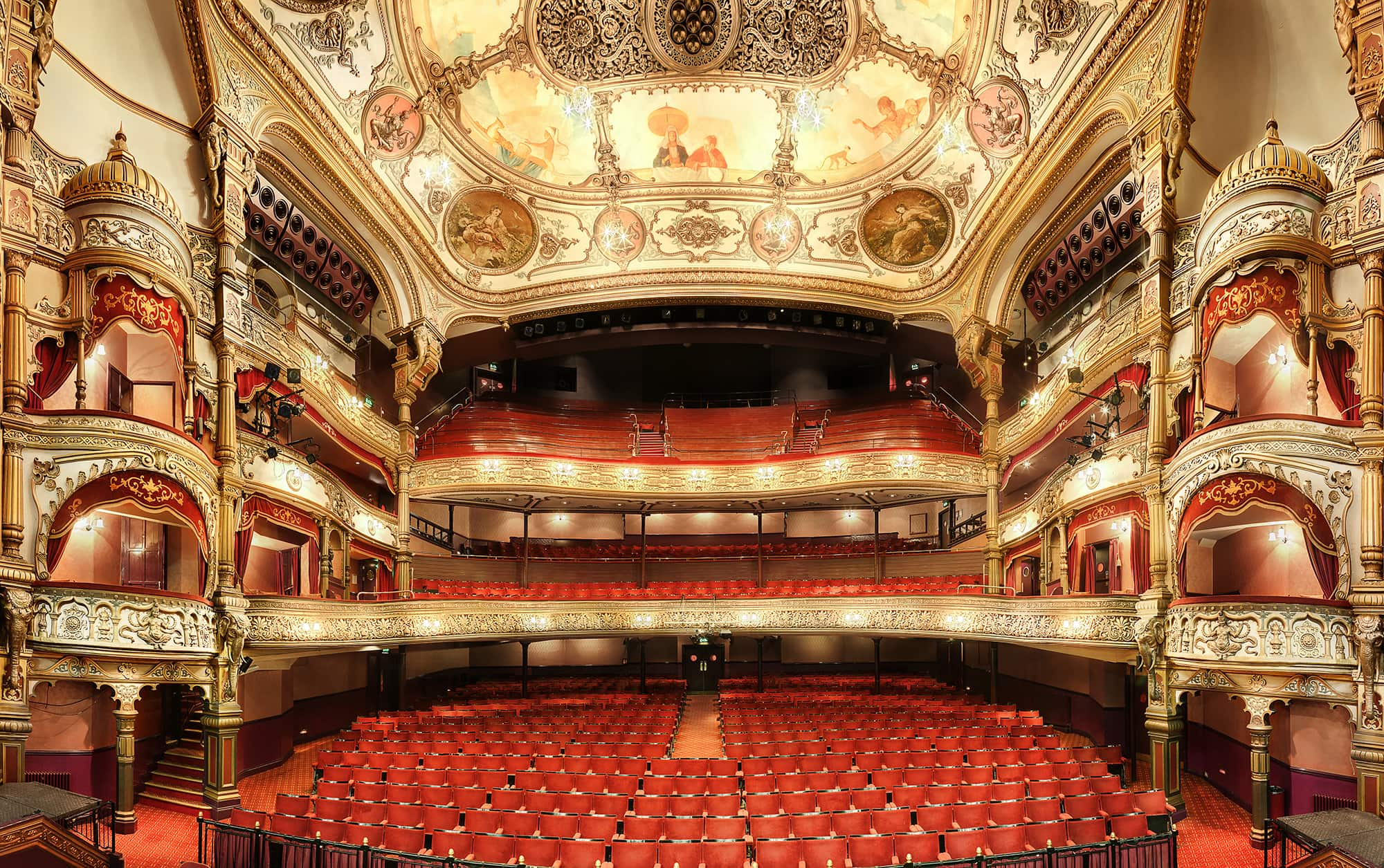 Grand Foyer Bar Allphones Arena : Belfast s grand opera house voted northern ireland most