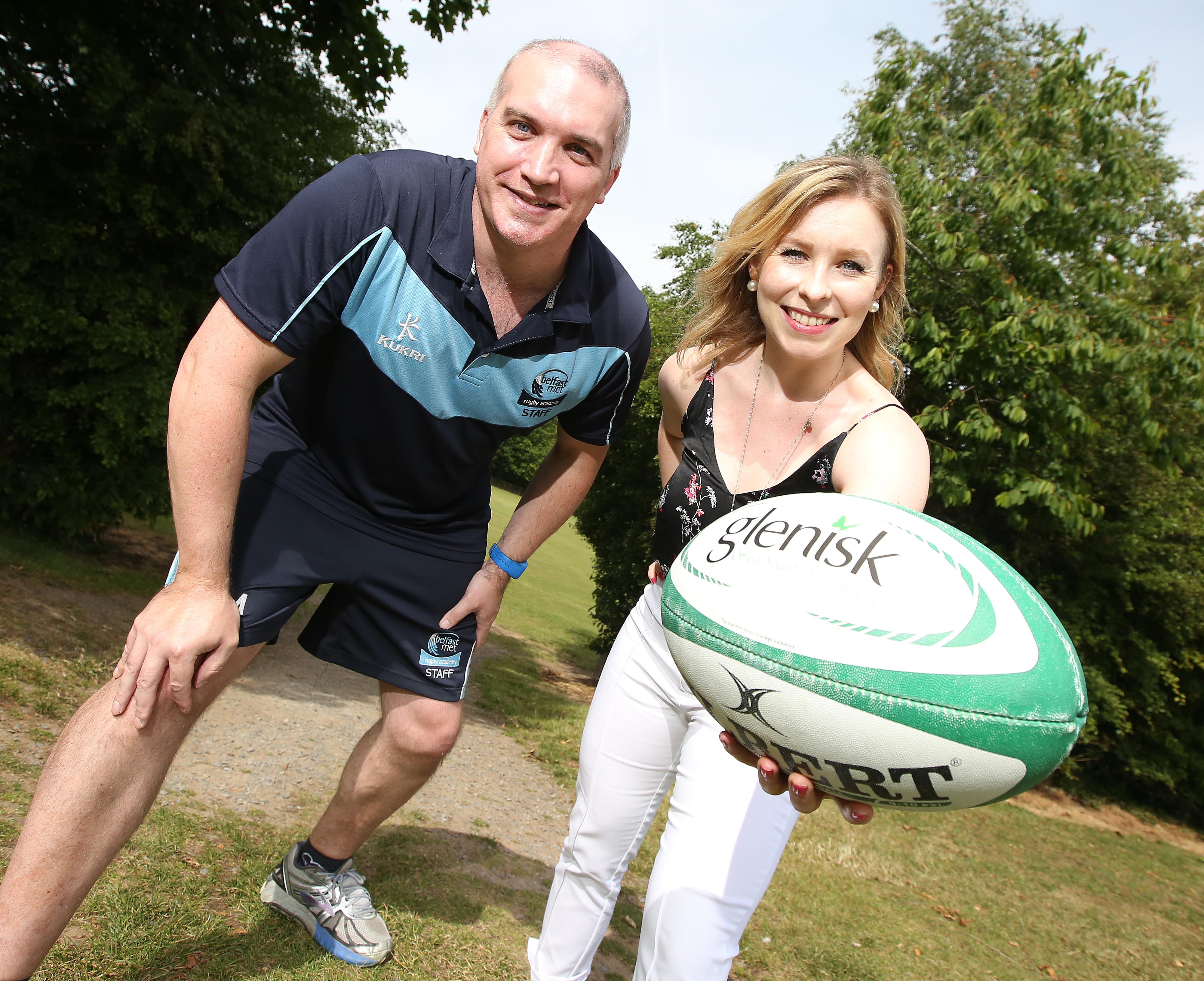 Belfast Met Rugby Academy links up with Glenisk for Kids' Rugby Training Camps with Rory Best