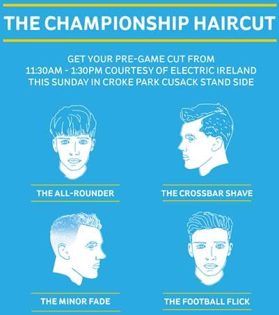 The GAA Championship Haircut