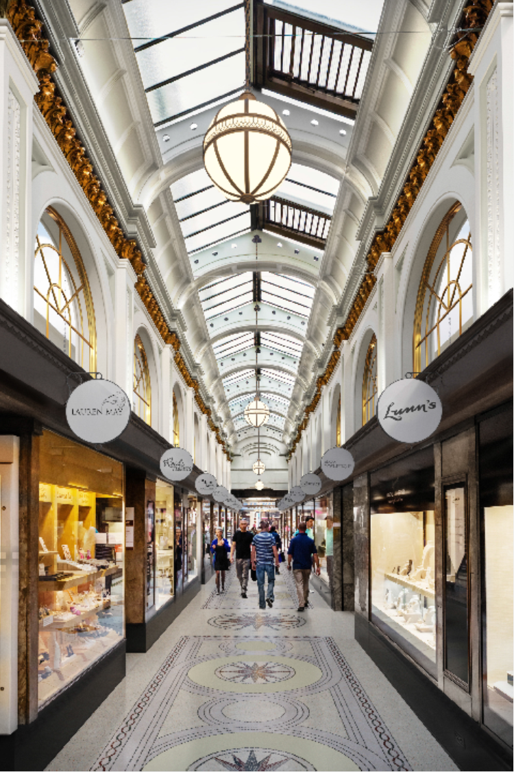 Planning Application Submitted For Restoration Of Belfast S Historic Queen S Arcade Lovebelfast