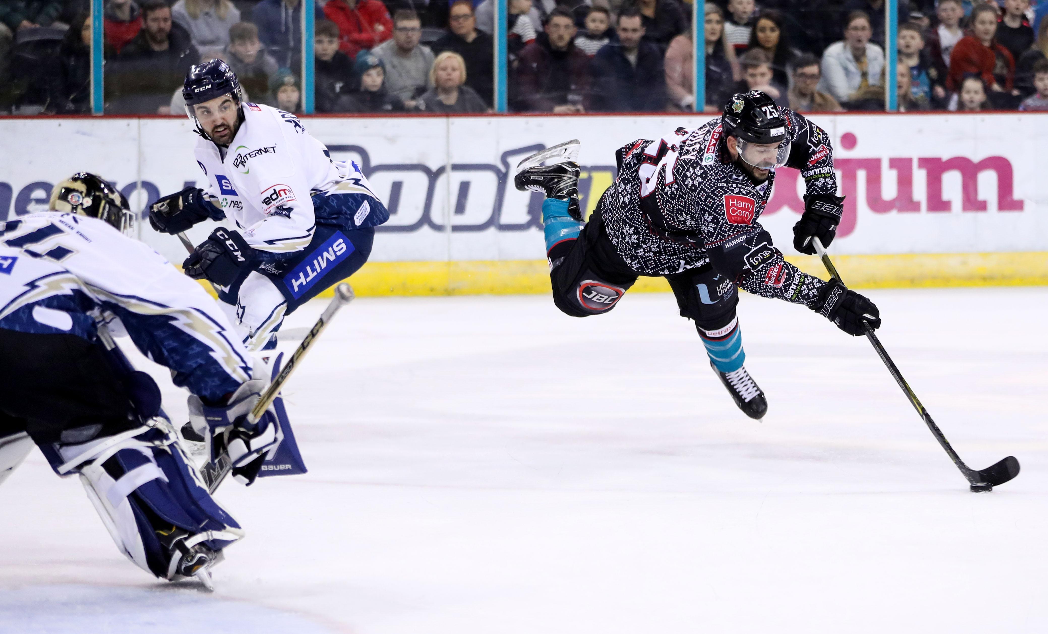 Belfast Giants v Milton Keynes Lightning - Elite Ice Hockey League