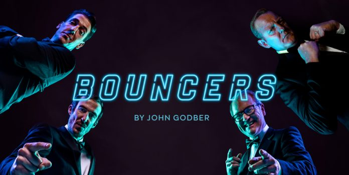 Bouncers Ciaran Nolan, Conor Grimes, Chris Robinson and Sean Kearns