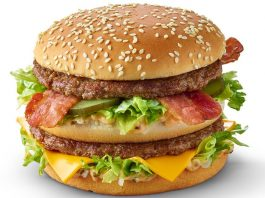 Grand Bic Mac with Bacon