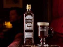Irish Coffee Bushmills Whiskey
