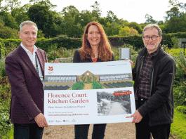 Florence Court Kitchen Garden project
